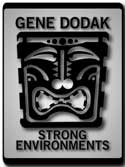 Gene Dodak : Ceramic Art : Strong Environments Mobile Logo